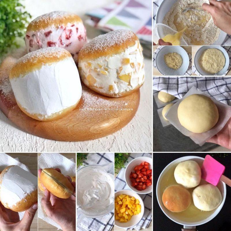 korean-milky-cream-doughnut